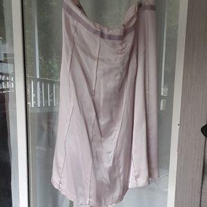Pretty lavender silk lined skirt
